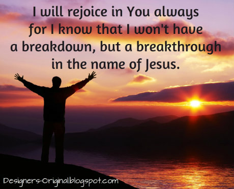 Breakthrough with Jesus