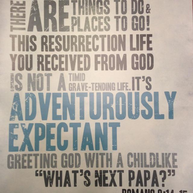 Whats next papa