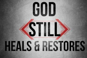 God still heals