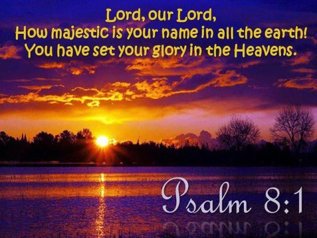 Psalm 8, 1