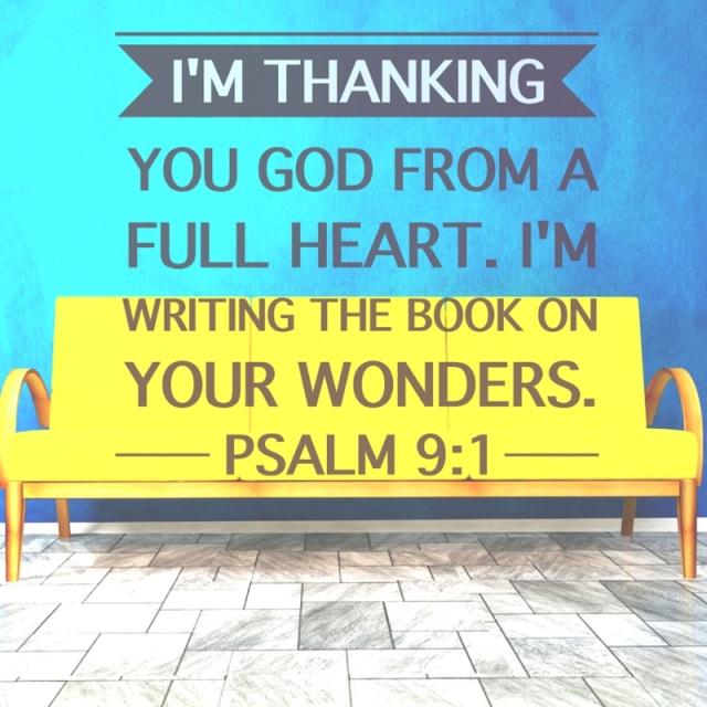 psalm 9 grateful