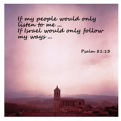 psalm-81-if-only