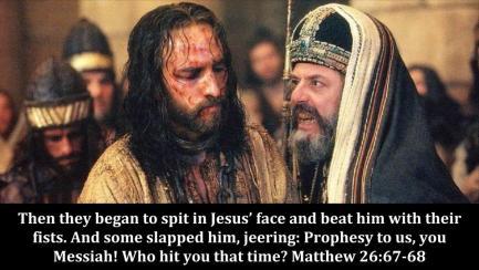 Matthew 26 spit