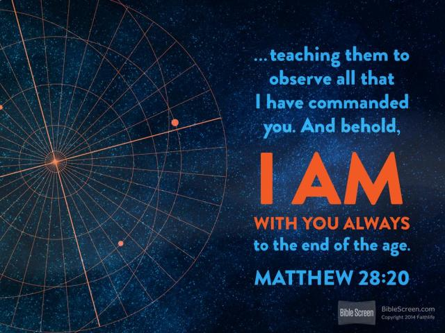 Matthew 28 with us