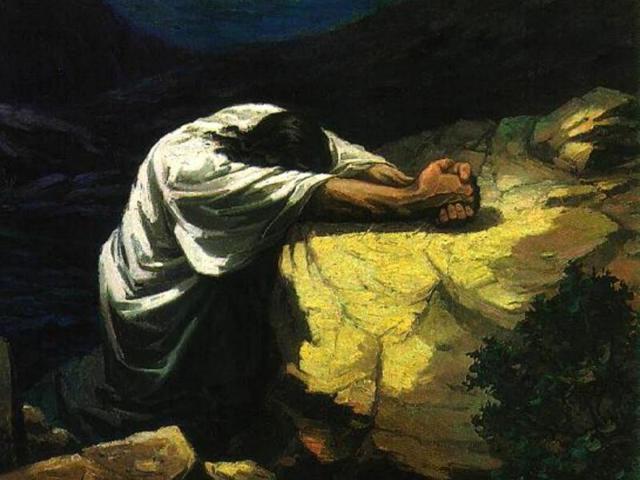 Mark 14 agony