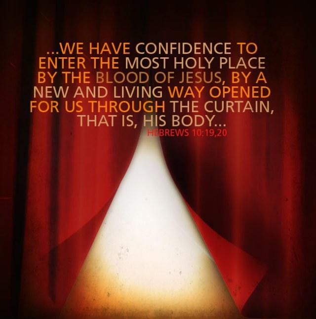 Mark 15, the veil