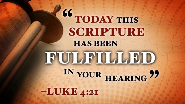 Luke 4 Jesus reading