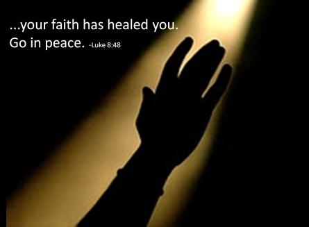 Luke 8 faith and healing