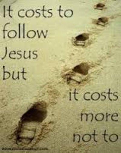 Luke 9 cost of follower
