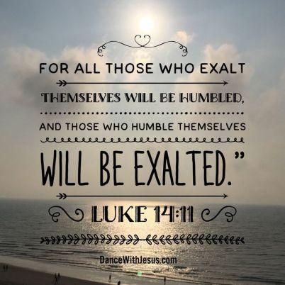 Luke 14 exalted