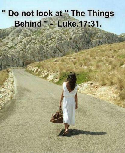 Luke 17 don't look behind