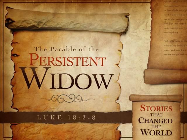 Luke 18 persistent faith