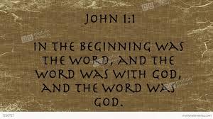 John 1 beginning