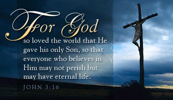 John 3 cross