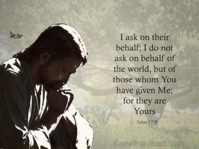 John 17 prayer of Jesus