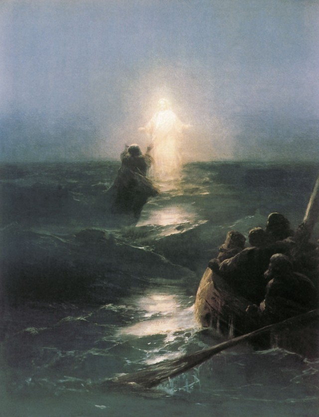 John 6 Jesus storm