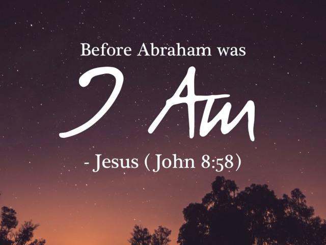 John 8 I AM