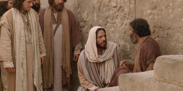 John 9 Jesus heals