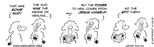 John 9 sheep try to explan