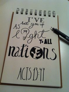 Acts 13 light to the nations