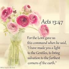 Acts 13 light