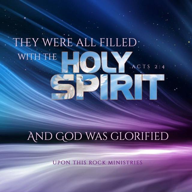 Acts 2 God was glorified