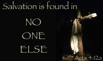 Acts 4 Jesus