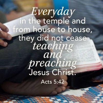 Acts 5 never stopped