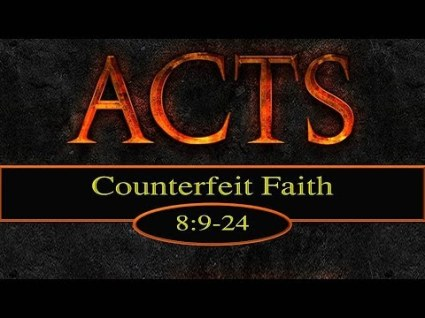Acts 8 not truth