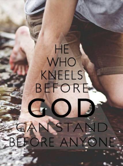 Acts 9 kneel