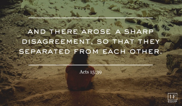 Acts 15 disagree