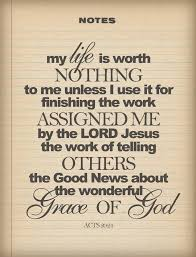 Acts 20 grace of God
