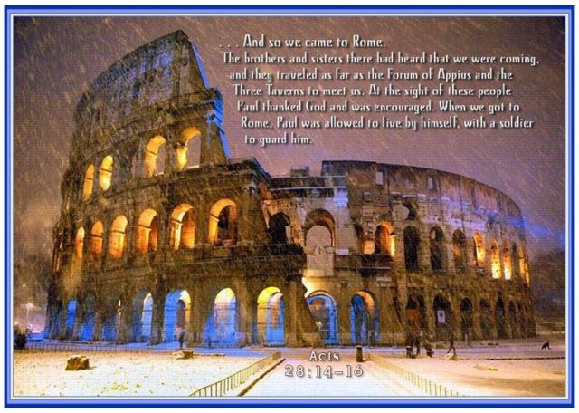 Acts 28 Rome