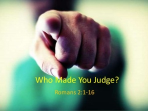 Romans 2 judge