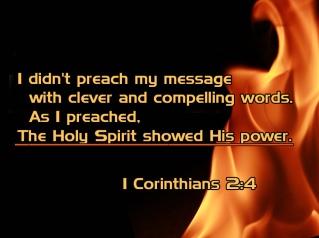 1 Corinthians 2 power