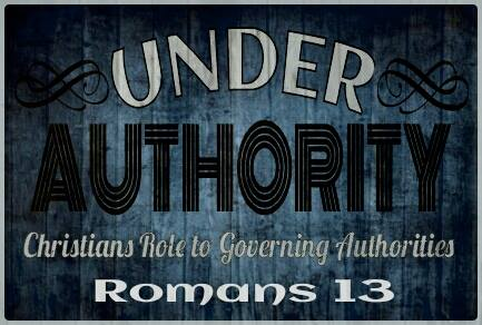 Romans 13 authority