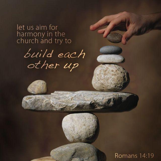 Romans 14 build