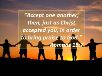 Romans 15 love each other