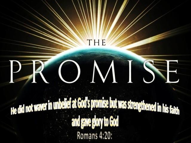 Romans 4 20
