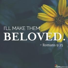 Romans 9 beloved
