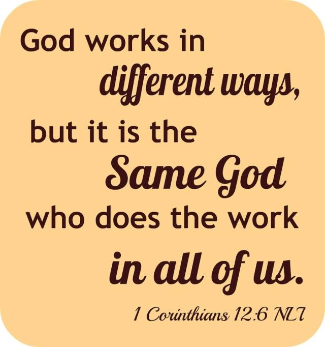 1 Corinthians 12 one