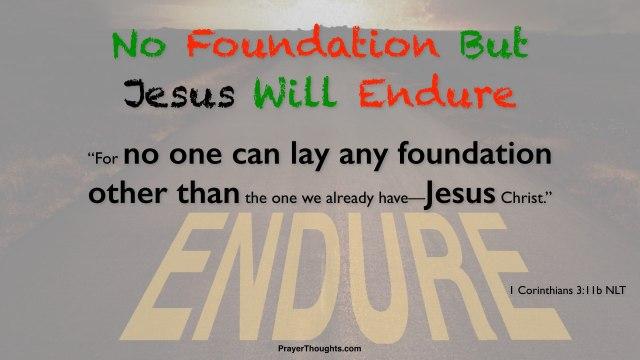 1 Corinthians 3 enduring foundation