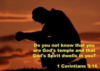 1 Corinthians 3 spirit God's temple