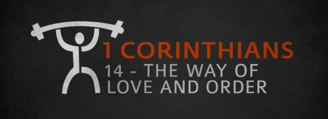 1 Corinthinas 14 order