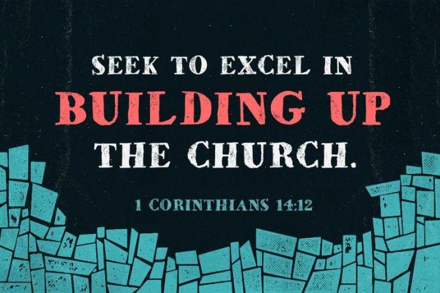 1 Corinthinians 14 build