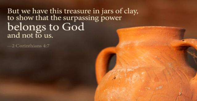 2 Corinthians 4 jars