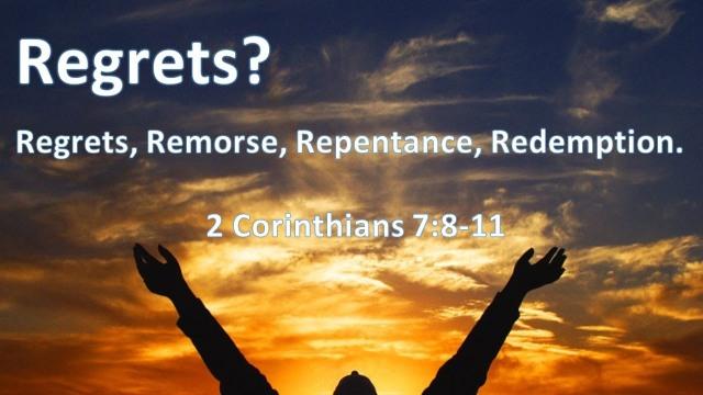 2 Corinthians 7 regrets