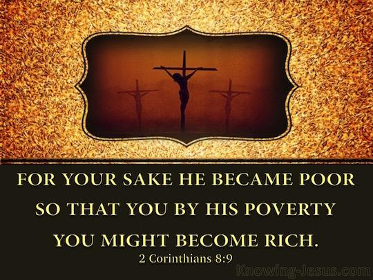 2 Corinthians 8 Jesus generosity
