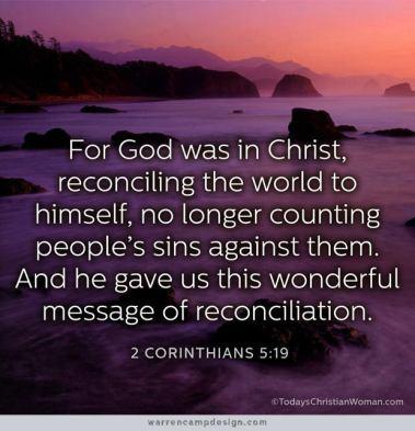 2 Corinthinas 2 reconcile