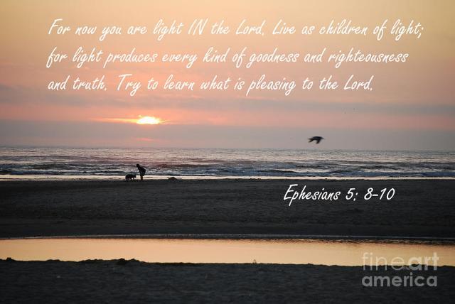 Ephesians 5 8 10
